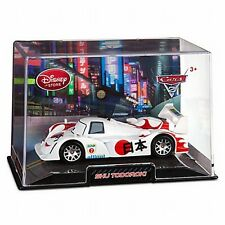 Disney Store Cars 2 Die Cast Collector Case Shu Todoroki 1:43 Scale NEW