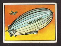 Graf Zeppelin Dirigible Air Ship Hot Balloon Aviation World Record Spanish Card