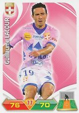 GUILLAUME LACOUR EVIAN THONON ETG TRADING CARDS ADRENALYN PANINI FOOT 2013