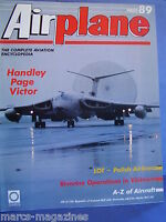 AIRCRAFT AVIATION MAG AIRPLANE # 89 BRITISH AEROSPACE HANDLEY PAGE VICTOR DATA