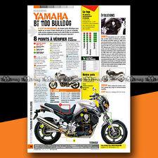 ★ YAMAHA BT 1100 BULLDOG ★ Article Fiche Moto Guide Achat Occasion #a1088