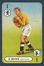 PEPYS INTERNATIONAL WHIST PLAYING CARD 1948 -#01-SCOTLAND-R.BROWN