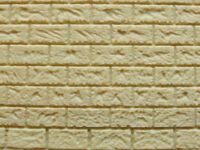 Muro in pietra gialla per modellismo scala 1/35 cm.22X13 -Krea