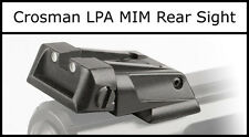 Crosman LPA MIM Metal Rear Sight Fits Crosman Steel Breech 2240 2250 1377 1322
