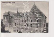 Oude Postkaart CPA Neerpelt Sint Hubertus College