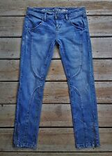 CONVERSE ONE STAR Skinny Ankle Zipper Slim Stretch Denim Jeans Sz 6 ~ 31 x 28