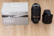 Tamron A005 SP 70-300 mm F/4.0-5.6 Di USD Objektiv für Nikon Kameras (A005N)