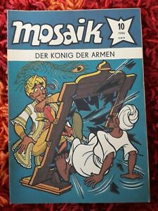 Mosaik Abrafaxe 10/1986 Fehldruck Fehlschnitt selten Rarität
