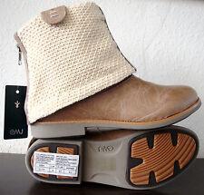 EMU AUSTRALIA WILLANDRA W11059 Boots Beige Damen Cukka Leder Schuhe Gr.37 NEU