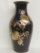 Große Vase,Jeannette GG,Lindner Küps echt Cobalt Porzellan Topzustand