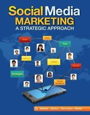 Social Media Marketing: A Strategic Approach by Melissa Barker FREE SHIPPING USA