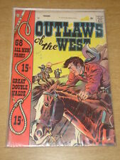 OUTLAWS OF THE WEST #14 VG+ (4.5) CHARLTON COMICS GIANT FEBRUARY 1958