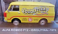 Alfa Romeo F12 - Idrolitina - 1972 - Scala 1:43 - DeAgostini - Nuovo