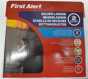 First Alert Rettungsleiter/Notleiter EL52W2, 4,30m, bis zum 2. Obergeschoss