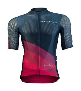 COLNAGO SHORT SLEEVE JERSEY - BLACK/RED - SMALL - EX DISPLAY - ROAD BIKE -