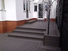 Composite Decking Clarity Graphite 12 Square Metre Pack (incl. fixings)