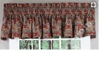 Chenille Tapestry Valance Rod Pocket Window Valance