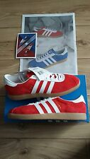 Adidas Red Athen UK 7.5 Dublin Glasgow London Malmo Stockholm Paris Cardiff City