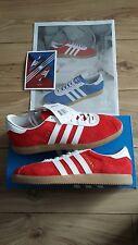 Adidas Red Athen UK 7.5 Dublin Glasgow London Malmo Stockholm Paris Cardiff City