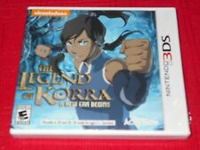 THE LEGEND OF KORRA: A NEW ERA BEGINS 3DS FACTORY SEALED!!! FAST FREE SHIPPING!!