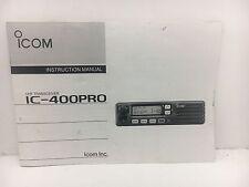 Globe Roamer Icom IC-400Pro Owner's Instruction Manual