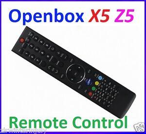 Original Remote Control for Openbox X5 Openbox Z5 HD Satellite Receiver
