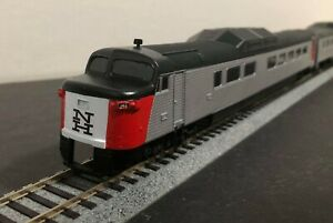 HO Budd Roger Williams Complete 6 Unit Set RDC New Haven Kit by MTM