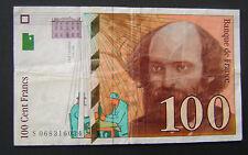 1998 Frankrijk France - 100 Francs 1998 Cezanne Pick 158