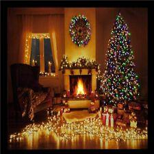 Large Quality Festive Christmas Tree Scene Light Up LED Canvas/Picture 60 x 40cm