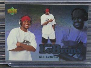 2006-07 UD Reserve Lebron James The Lebrons Kid Lebron #4 Cavaliers Z768