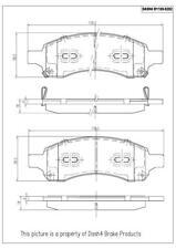 Disc Brake Pad Set-CERAMIC PADS Front Dash 4 Brake CD1169
