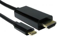 5 M USB 3.1 Tipo C USB-C a 4K HDMI Cable Adaptador Hdtv Samsung S8 Note S9 Macbook