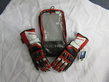 RICHA PROFILE MOTORCYCLE RACING SUMMER GLOVES - RED