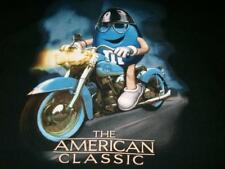 M&M the American Classic Harley Chopper Motorcycle Biker Black T-shirt Men's Lg
