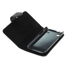 Book Case Etui Handytasche Tasche Hülle f. Samsung GT-I9000 / I9000 (Schwarz)