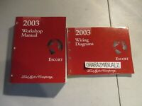 2003 FORD Escort Wiring Diagrams & Service Manuals Manual Set OEM