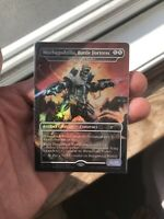 Mechagodzilla Battle Fortress (Hangarback Walker) Foil Promo NM / Near Mint MTG