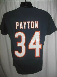 Chicago Bears Walter Payton #34 NFL Men's  Mitchell & Ness Throwback Shirt