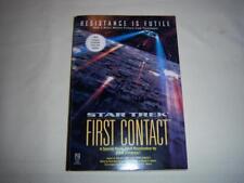 Star Trek -First Contact- Resistance is Futile By John Vornholt Book.