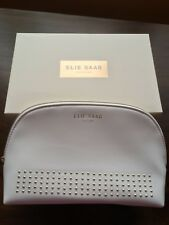 Elie Saab White Makeup/Cosmetics Pouch - New and Boxed
