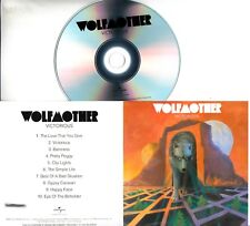 WOLFMOTHER Victorious 2016 UK named & watermarked 10-track promo test CD