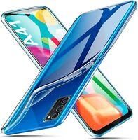 For Samsung Galaxy A41 Case Clear Silicone Ultra Slim Gel Cover