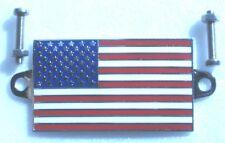 Plaque émail USA 50mm x 30mm