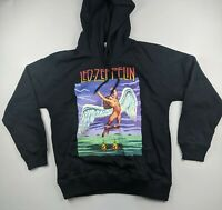 Led Zeppelin Hooded Sweatshirt Swan Song Size Large