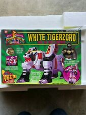 Mighty Morphin Power Rangers White Tigerzord And The White Ranger