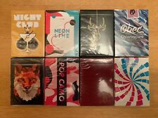 Mixed Lot Sold Out Riffle Shuffle Playing Cards OPC A1WW Cardistry Magic 8 Decks