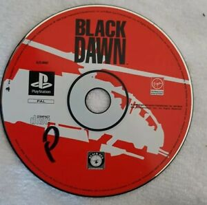 Black Dawn Sony PlayStation One PS1 Disc Only FAST POST