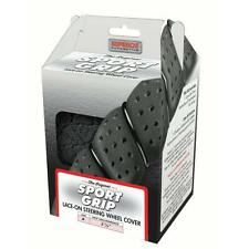Superior Automotive Lace-Up Sport Grip Steering Wheel Cover - Black 58-0550B