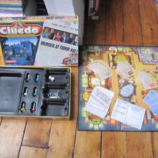 Wooden Cluedo/Clue 3 players Board & Traditional Games