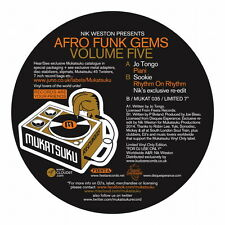 "Nik Weston Presents Afro Funk Gems Volume Five 7"" Jo Tongo - Piani Sookie"